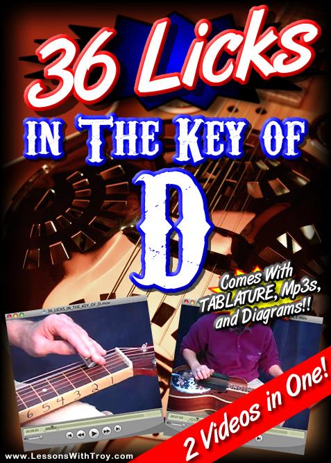 36 Licks In The Key Of D for Dobro®