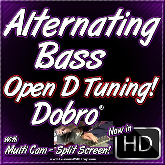 Alternating Bass - Open D Tuning