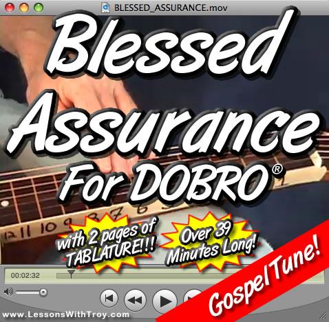 Blessed Assurance - Gospel Song for Dobro®