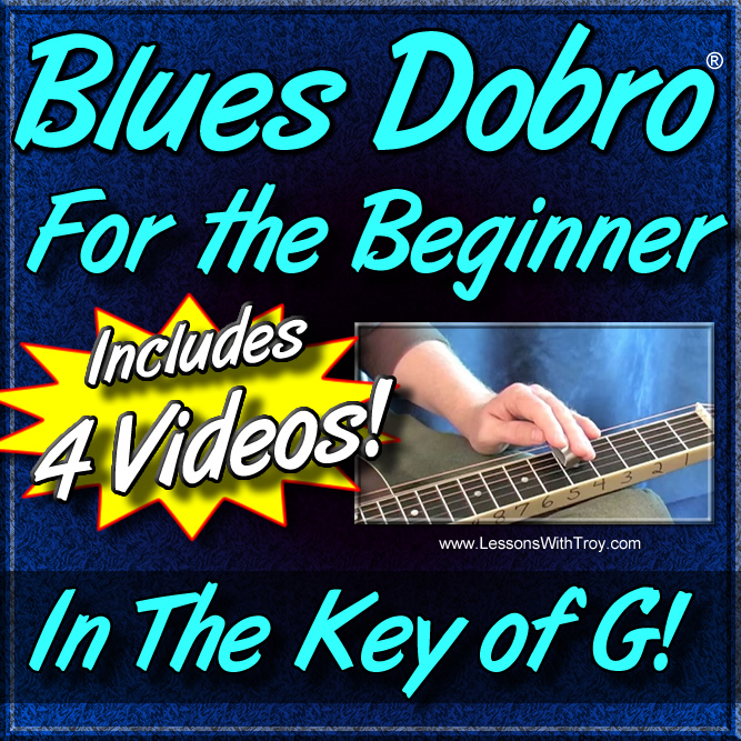 Blues Dobro® For the Beginner - In The Key of G