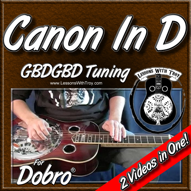 Canon In D - in Open G Tuning