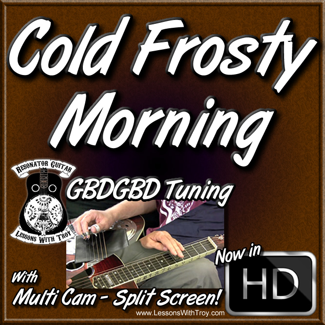 COLD FROSTY MORNING - Song for Dobro®