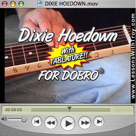 Dixie Hoedown - Bluegrass Song for Dobro®