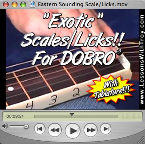 Exotic Sounding Licks & Ideas for Dobro®