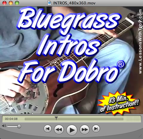 Bluegrass Intros for Dobro® - Volume #1
