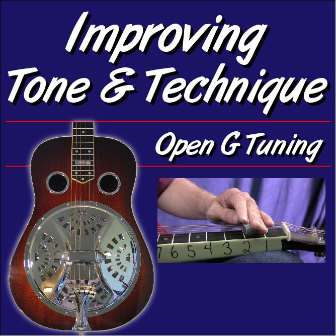 Improving Tone & Technique - for Dobro Open G