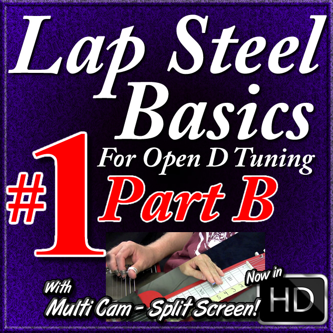 Lap Steel Basics - Vol. 1 - Part B