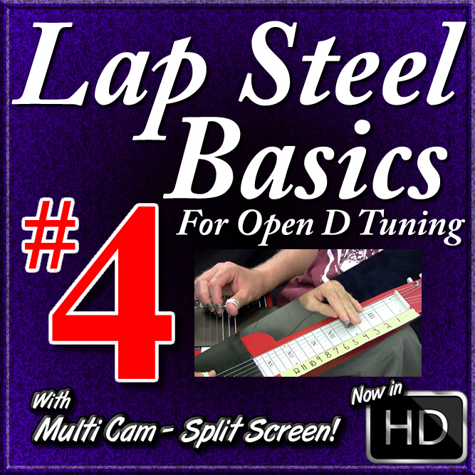 Lap Steel Basics - Vol. 4 - Movable Minor Pentatonic Scale Shapes