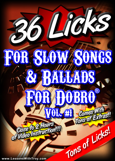 36 Licks For Slow Songs and Ballads