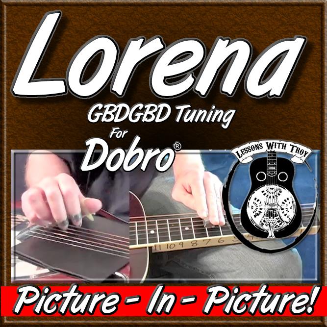 LORENA - Civil War Song for Dobro®