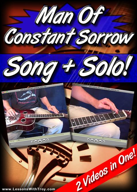 Man Of Constant Sorrow - Song + Solo!