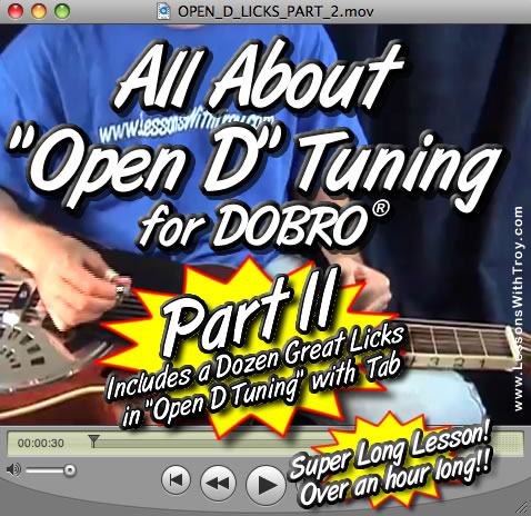 """All About Open D Tuning - """"PART 2"""""""