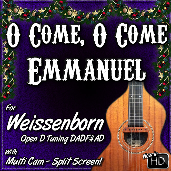 Weissenborn Lessons - O COME, O COME EMMANUEL - For Weissenborn