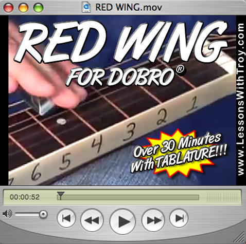 Red Wing - Bluegrass Song for Dobro®