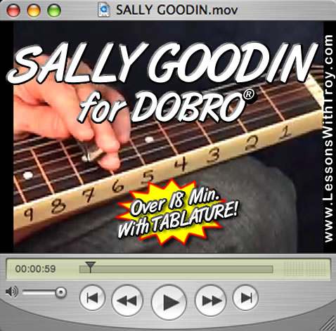 Sally Goodin - Bluegrass Song for Dobro®
