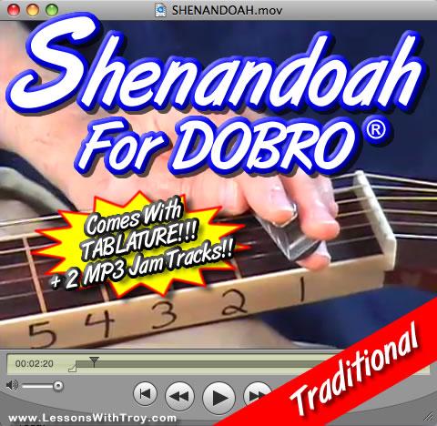 Shenandoah - traditional song for Dobro®