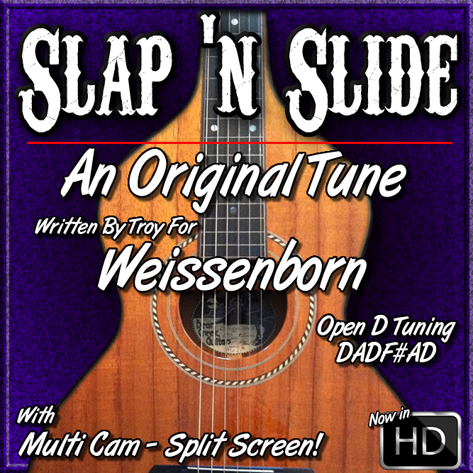 SLAP 'N SLIDE - An Original Tune in Open D Tuning