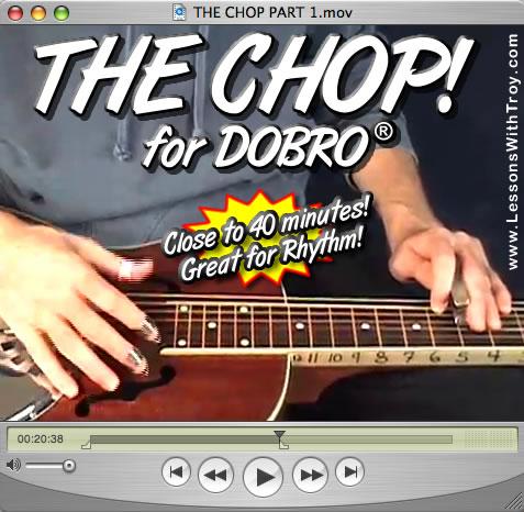 The Chop - #1 - Rhythm Playing for Dobro®
