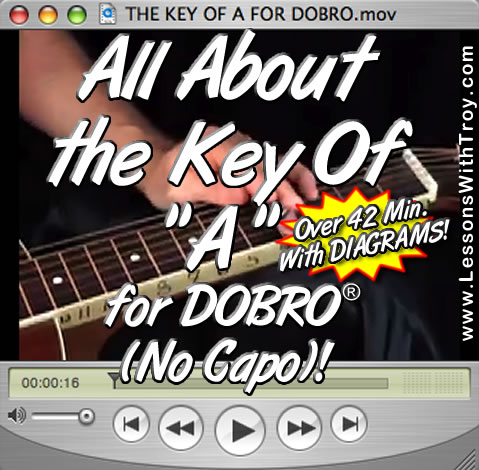All About The Key Of A for Dobro®