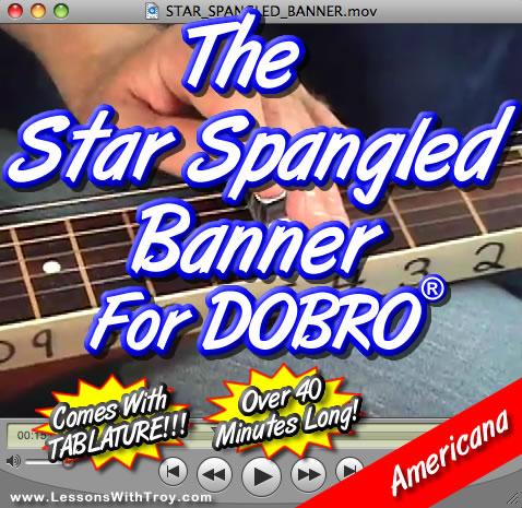 Star Spangled Banner for Dobro®