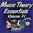 Music Theory Essentials Vol. #1