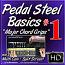 #01 - PEDAL STEEL BASICS - Major Chord Grips