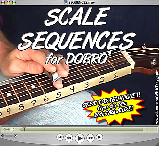 Scale Sequences for Dobro®