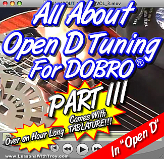 "All About Open D Tuning - ""Part 3"""