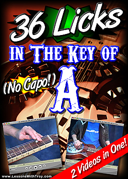 36 Licks In The Key Of A - (With No Capo!) for Dobro®