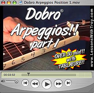 Arpeggios for the Dobro®
