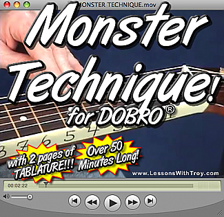 Monster Technique For Dobro®
