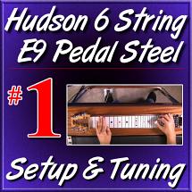 #1 - Hudson Pedal Steel Basics - FREE LESSON