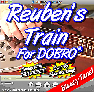 Reuben's Train - Bluegrass Song for Dobro®