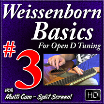 #3 - WEISSENBORN BASICS - Scales in Open D