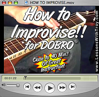 How to Improvise for Dobro®