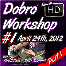 DOBRO WORKSHOP - APRIL 24TH, 2012 - #1 - Part 1
