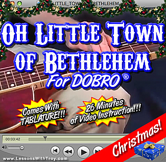 Oh Little Town Of Bethlehem - Christmas Song For Dobro®