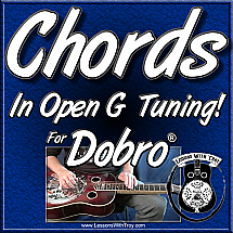 CHORDS FOR THE DOBRO® - 119 Straight Bar Chords - NO SLANTS!