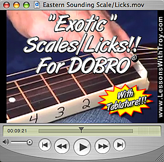 Exotic Sounding Licks & Ideas for Dobro®