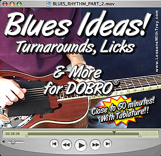 Blues Ideas Turnarounds Licks and More!