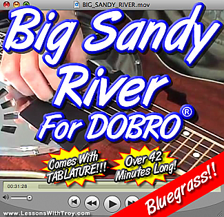 Big Sandy River - Bluegrass Song for Dobro®