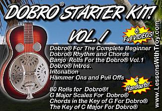 Dobro® Starter Kit Vol. 1