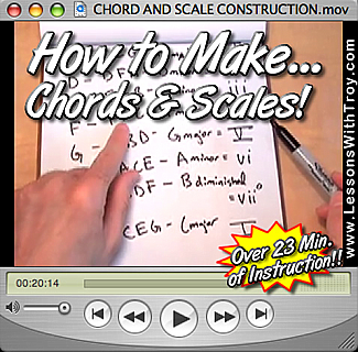 Chord and Scale Construction - Music Theory