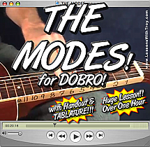 THE MODES - for Dobro®