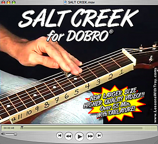 Salt Creek - Bluegrass Song for Dobro®