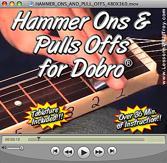 Hammer Ons and Pull Offs for the Dobro®