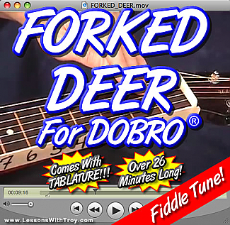 Forked Deer - Bluegrass Song for Dobro®