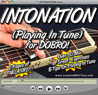 Intonation (Playing In Tune) for Dobro®