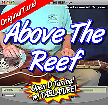 Above The Reef - Original Song in Open D Tuning