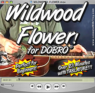 Wildwood Flower - Bluegrass Song for Dobro®